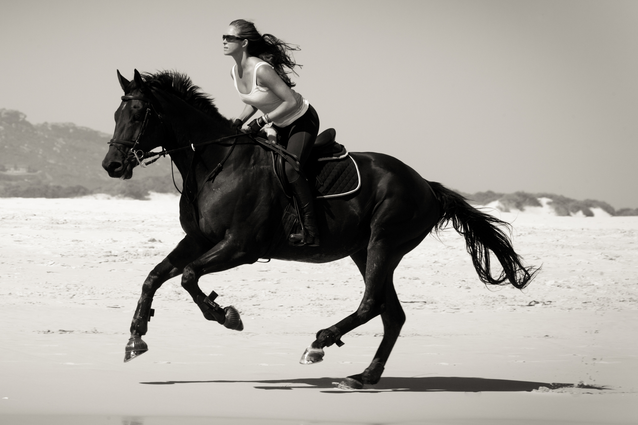 horses-on-noordhoek-beach-4
