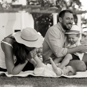 Travel photography for a family on holiday in Cape Town